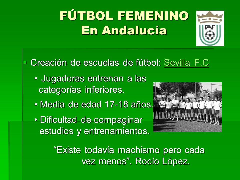 Sevilla F.C Femenino La motivación, interés, ilusión y ganas de aprender que tienen las chicas no las encuentras en un equipo masculino Sebastián Borras.