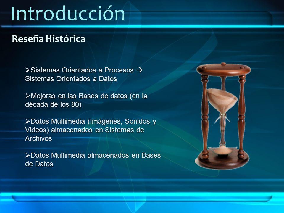 Introducción Reseña Histórica Sistemas Orientados a Procesos Sistemas Orientados a Datos Sistemas Orientados a Procesos Sistemas Orientados a Datos Me