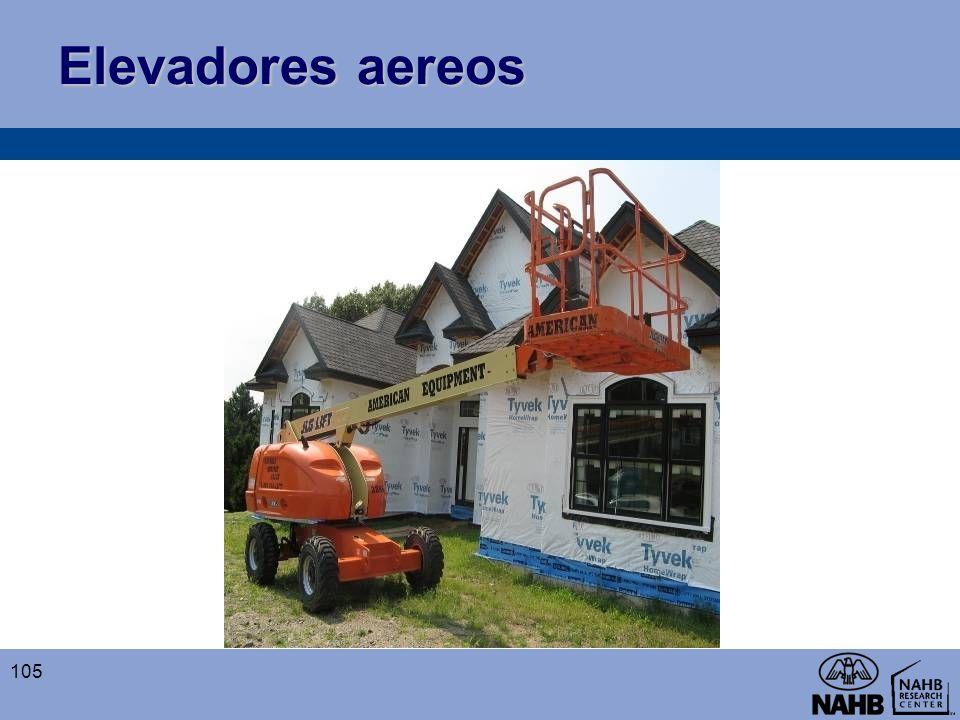 Elevadores aereos 105