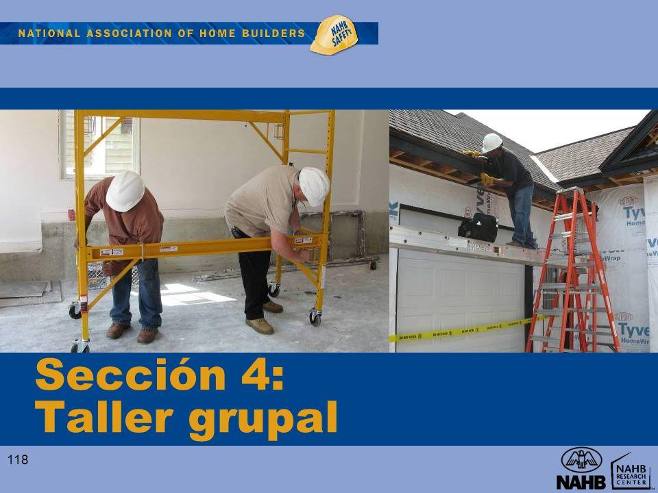 Sección 4: Taller grupal 118