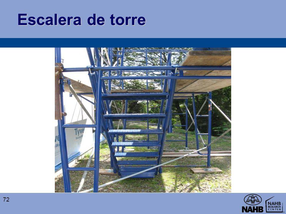 Escalera de torre 72