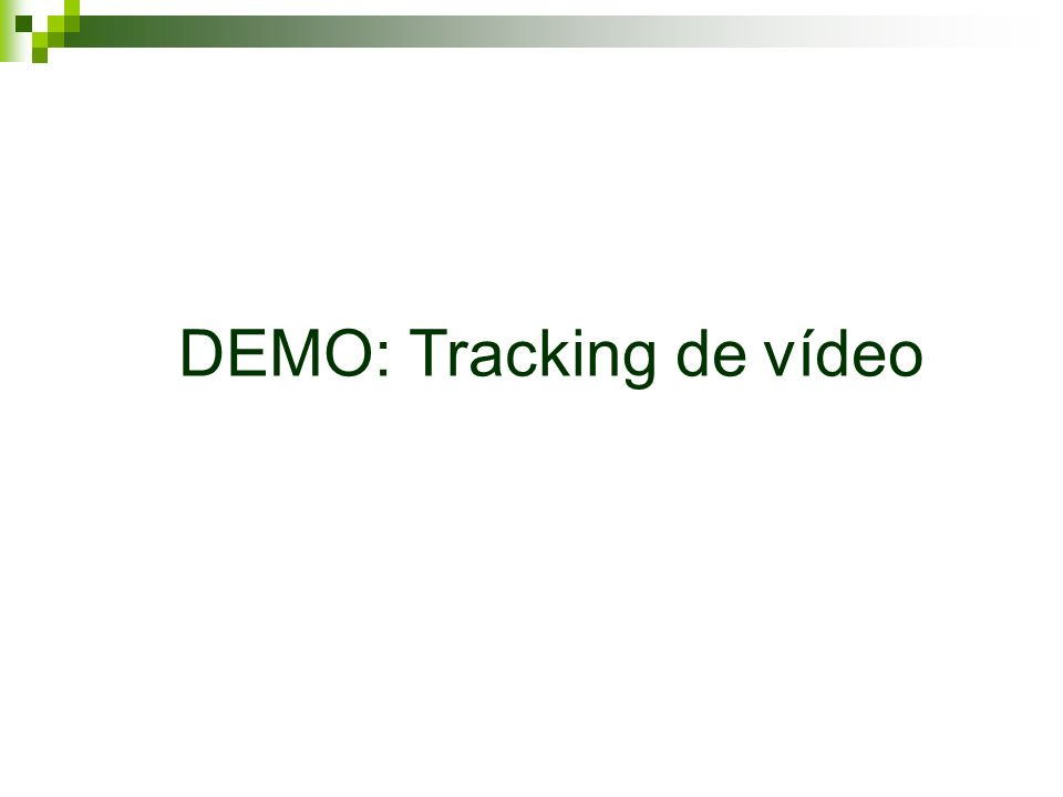 DEMO: Tracking de vídeo