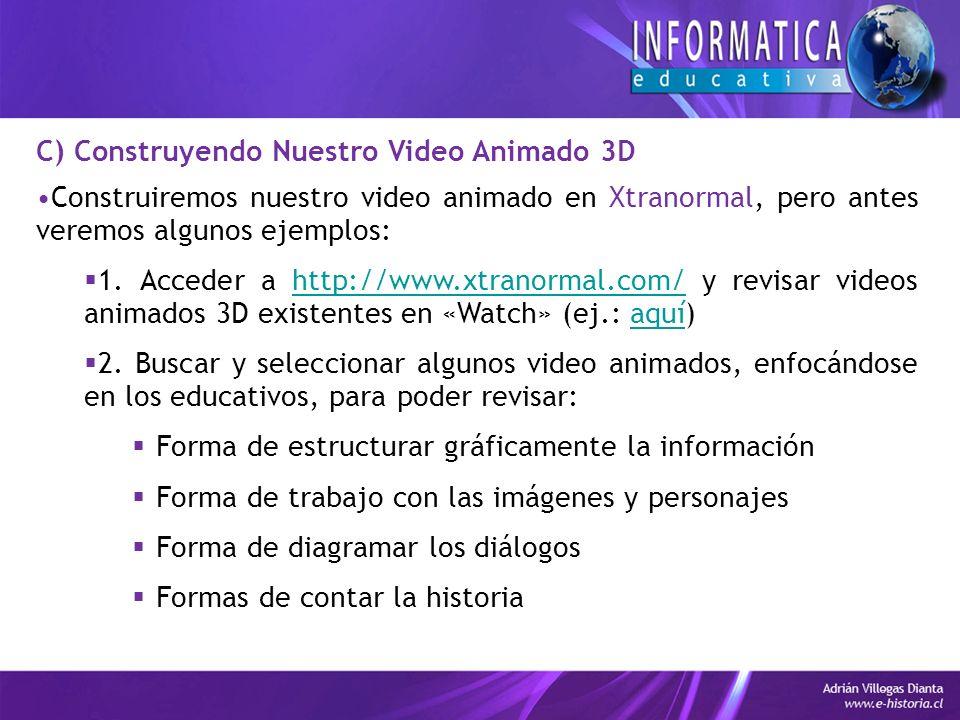 Construiremos nuestro video animado en Xtranormal, pero antes veremos algunos ejemplos: 1.