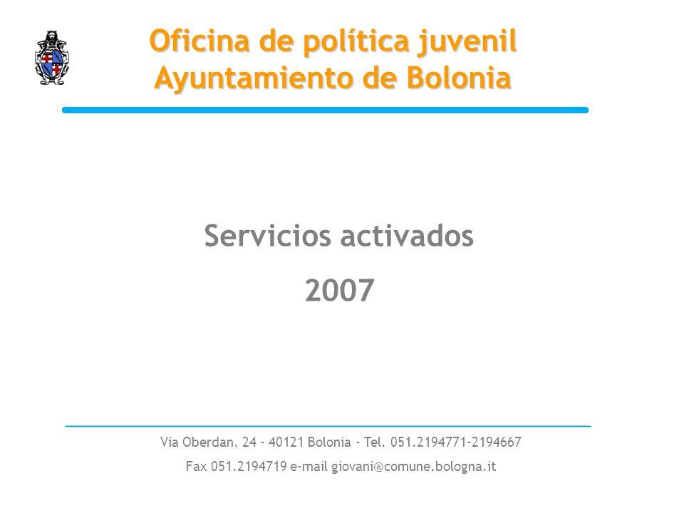 Via Oberdan, 24 - 40121 Bolonia - Tel.