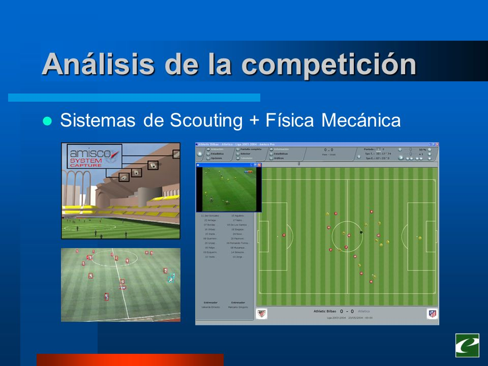 Análisis de la competición Sistemas de Scouting + Física Mecánica