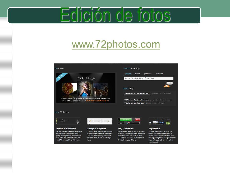 LOGO Edición de fotos www.72photos.com