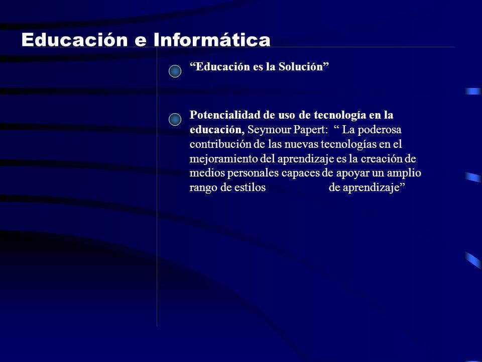 Potencialidad de uso de tecnología en la educación, Seymour Papert: La poderosa contribución de las nuevas tecnologías en el mejoramiento del aprendiz