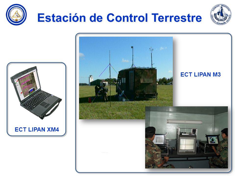 Estación de Control Terrestre ECT LIPAN XM4 ECT LIPAN M3