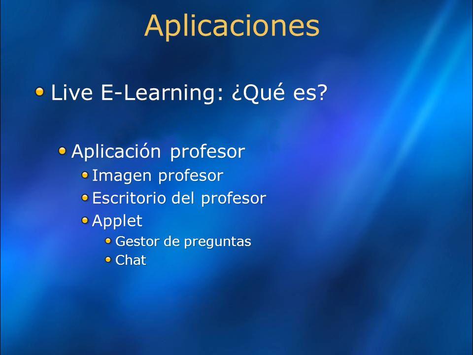 Aplicaciones Live E-Learning: ¿Qué es.