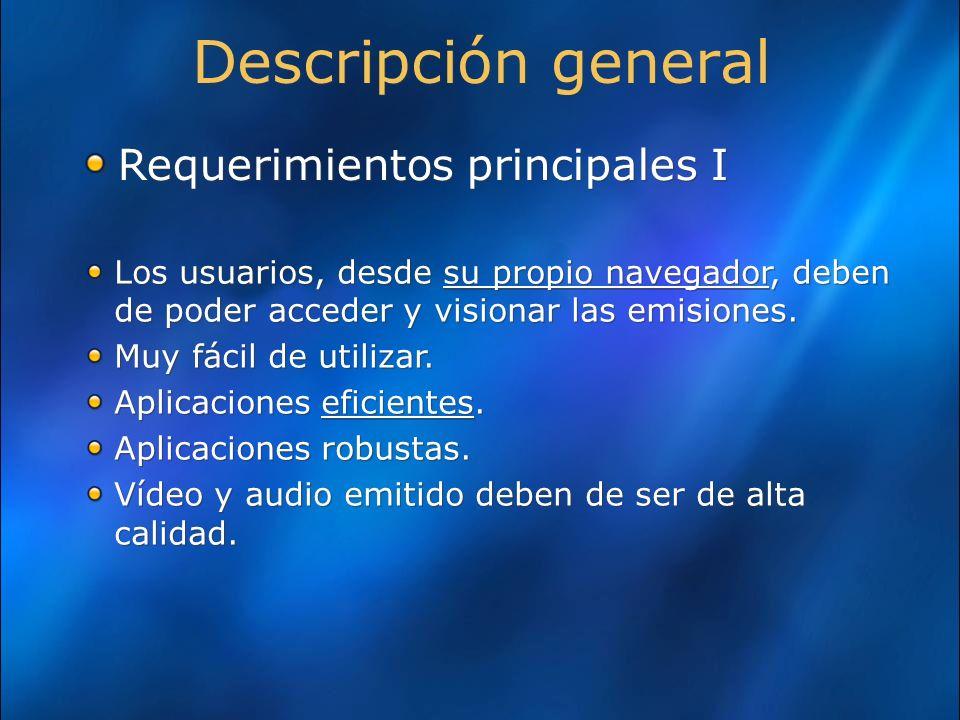 El proceso de grabación de las emisiones y el proceso de reproducción de emisiones grabadas deben de ser procesos automáticos (sin intervención humana).
