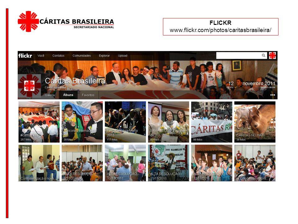 FLICKR www.flickr.com/photos/caritasbrasileira/