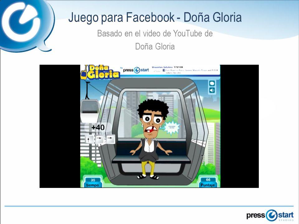 Juego para Facebook - Doña Gloria Basado en el video de YouTube de Doña Gloria