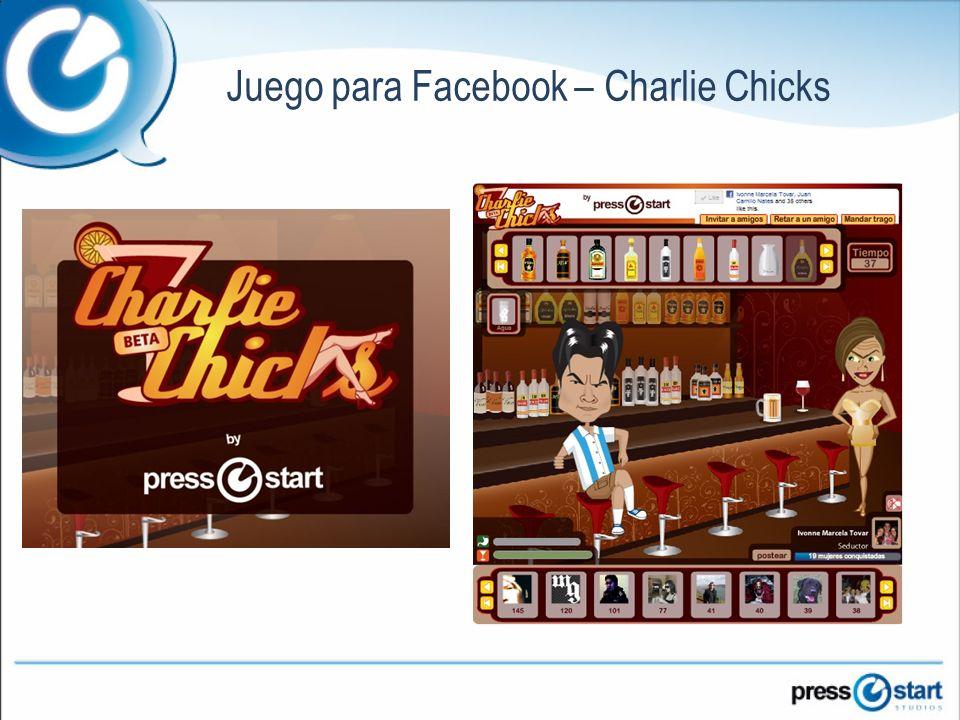 Juego para Facebook – Charlie Chicks