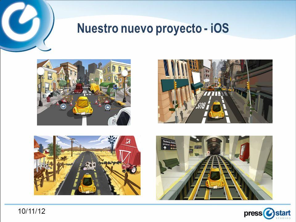 10/11/12 Nuestro nuevo proyecto - iOS