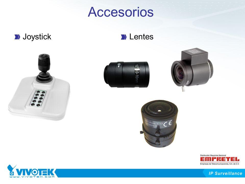 Accesorios JoystickLentes