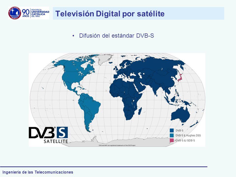 Ingeniería de las Telecomunicaciones Televisión Digital por satélite Difusión del estándar DVB-S