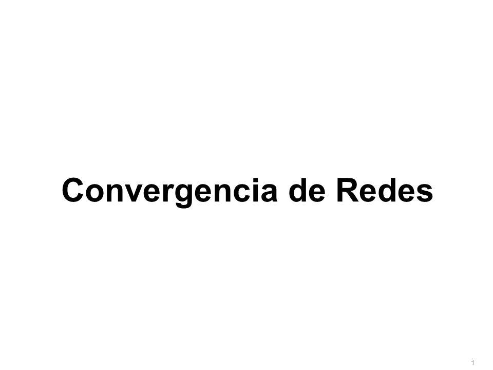 1 Convergencia de Redes