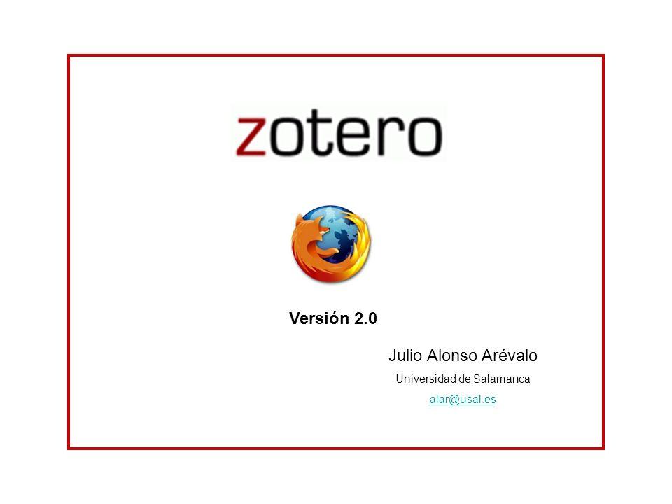 Julio Alonso Arévalo Universidad de Salamanca alar@usal.es Versión 2.0