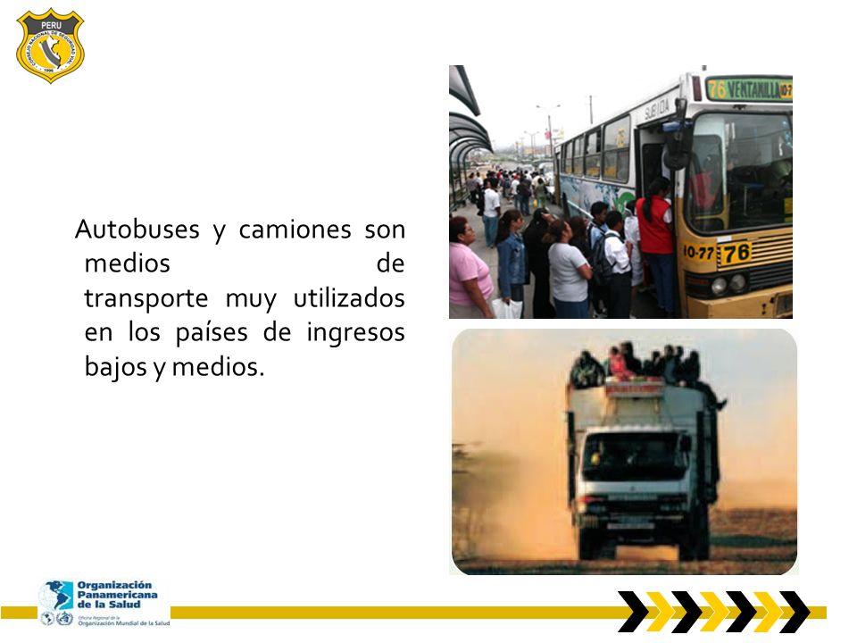Posibilidades de avance Los traumatismos por accidentes de tránsito pueden prevenirse.