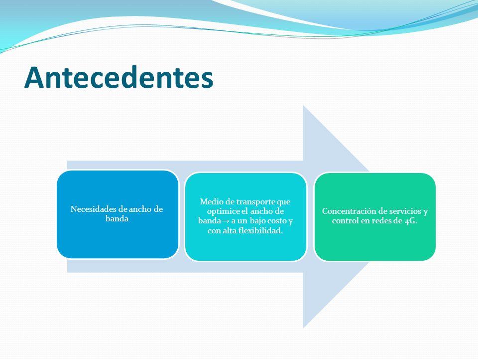 ARQUITECTURA DE LTE