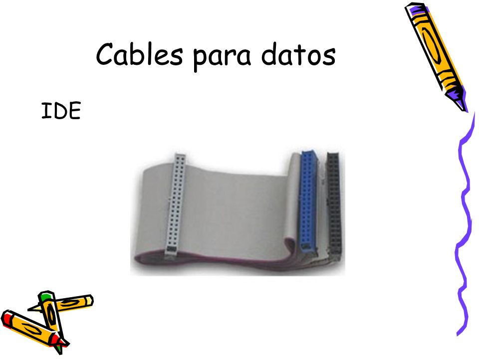 Cables para datos IDE
