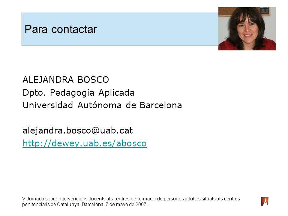 V Jornada sobre intervencions docents als centres de formació de persones adultes situats als centres penitenciaris de Catalunya.