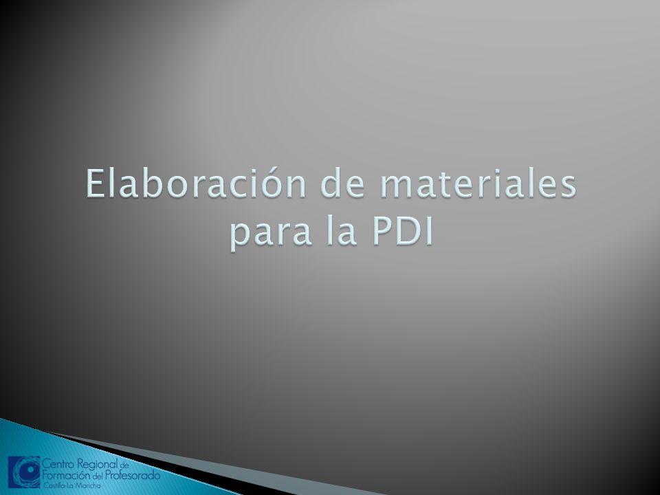Cada marca de pizarra tiene software propio para la elaboración de material: -Multiclass: Multiclassbook -Smart: SmartNotebook.