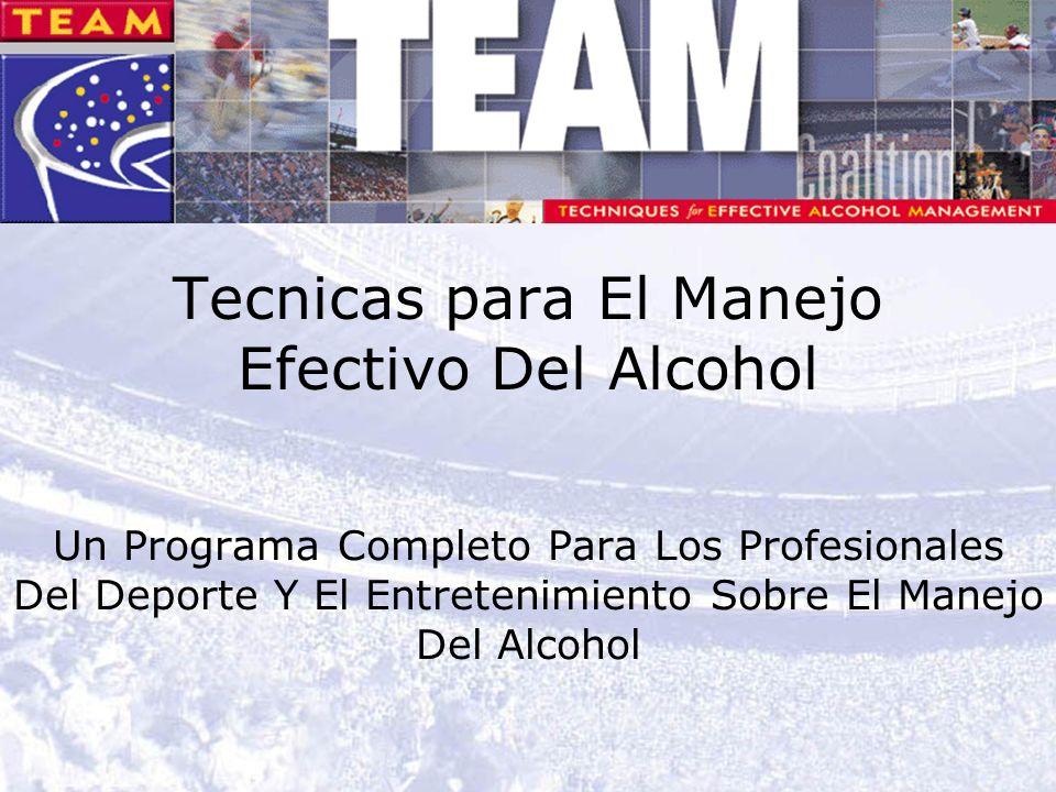 1 Tecnicas para El Manejo Efectivo Del Alcohol Un Programa Completo Para Los Profesionales Del Deporte Y El Entretenimiento Sobre El Manejo Del Alcohol