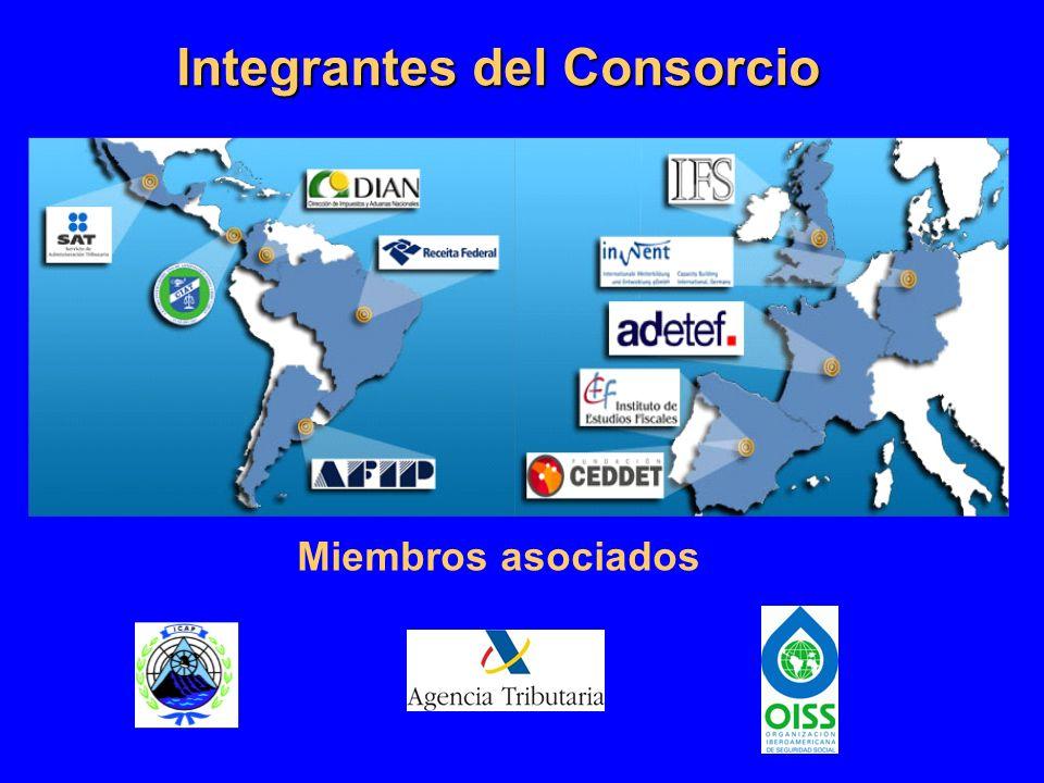 Integrantes del Consorcio Miembros asociados