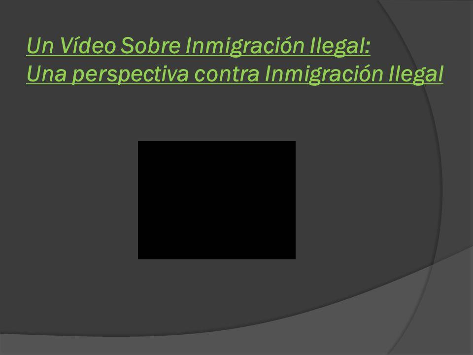 Crimen Inmigración ilegal causa muchas formas de crimen.