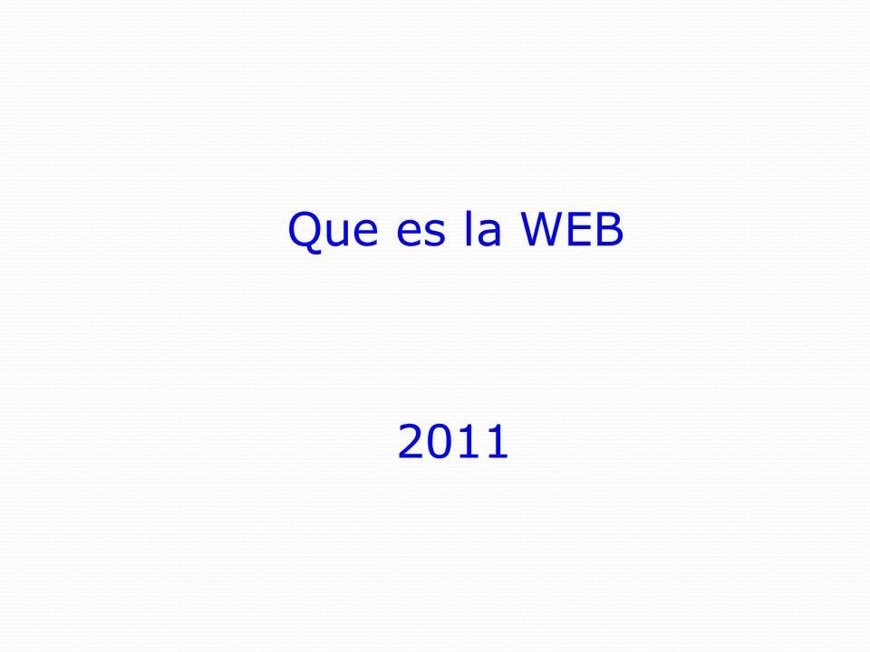 La World Wide Web (literalmente sería algo así como la Red de Alcance Mundial, en inglés) es una colección de documentos electrónicos que están vinculados entre sí, como una gran telaraña.
