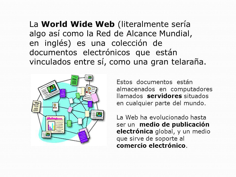 ¿De qué está hecha la Web.