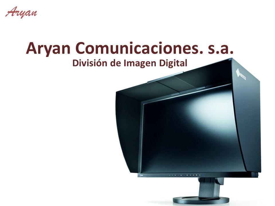 Aryan Comunicaciones. s.a. División de Imagen Digital