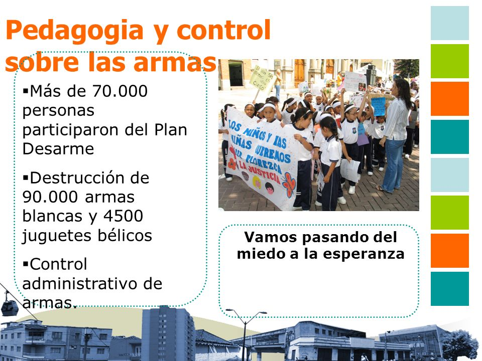 Pedagogia y control sobre las armas. Más de 70.000 personas participaron del Plan Desarme Destrucción de 90.000 armas blancas y 4500 juguetes bélicos