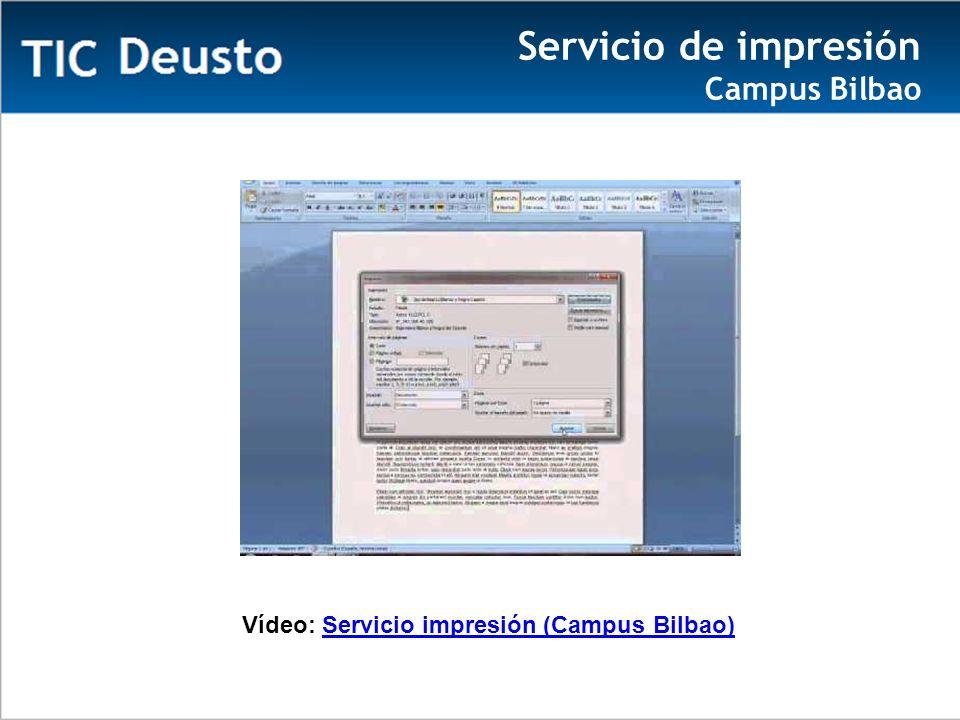Vídeo: Servicio impresión (Campus Bilbao)Servicio impresión (Campus Bilbao) Servicio de impresión Campus Bilbao