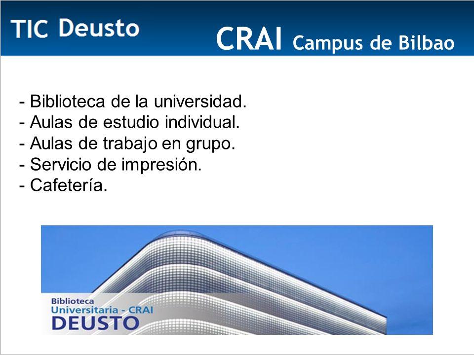 CRAI Campus de Bilbao Ca - Biblioteca de la universidad.