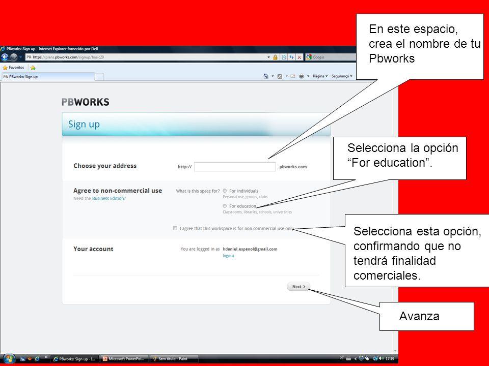 En esta pantalla, pincha en create accounts for your students.
