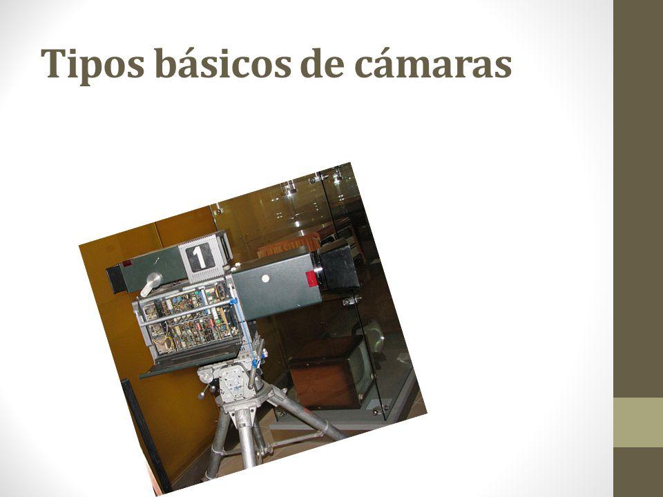 Partes de un sistema de cámara El sistema completo de una cámara de vídeo recibe el nombre de cadena de cámara y consta de la cabeza de cámara, que es la parte que está en el plató o en el lugar de la producción, y la estación base -o base station- que es la parte de la cámara que la une con el resto del sistema de producción.