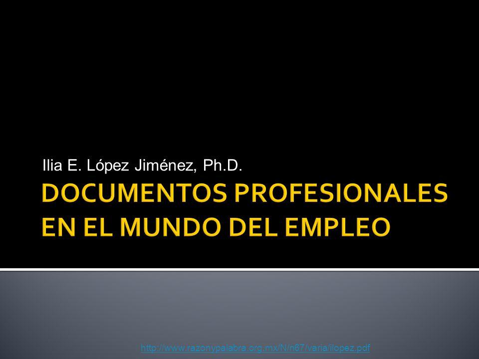 Ilia E. López Jiménez, Ph.D. http://www.razonypalabra.org.mx/N/n67/varia/ilopez.pdf