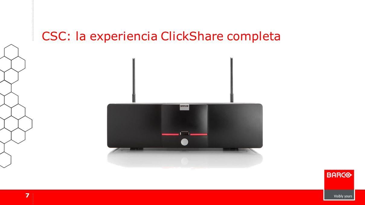 7 CSC: la experiencia ClickShare completa