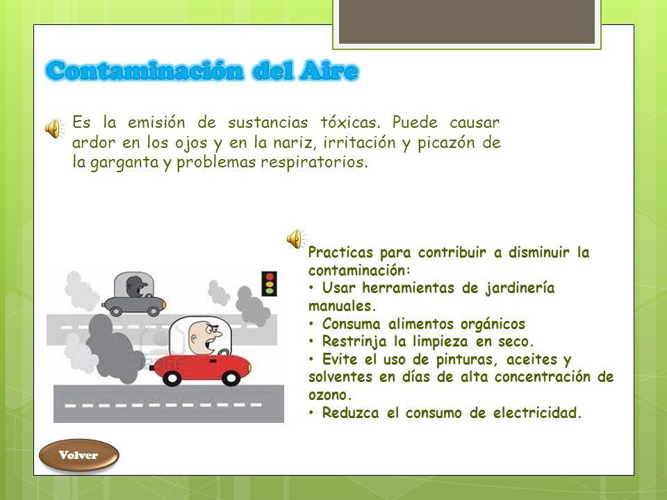 Contaminación del Suelo Es causada por la presencia de productos químicos de fabricación humana o cualquier otra alteración en el entorno natural del suelo.