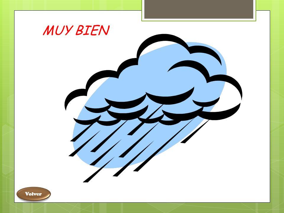 ¿Cuál de estas imágenes es la lluvia VOLVER