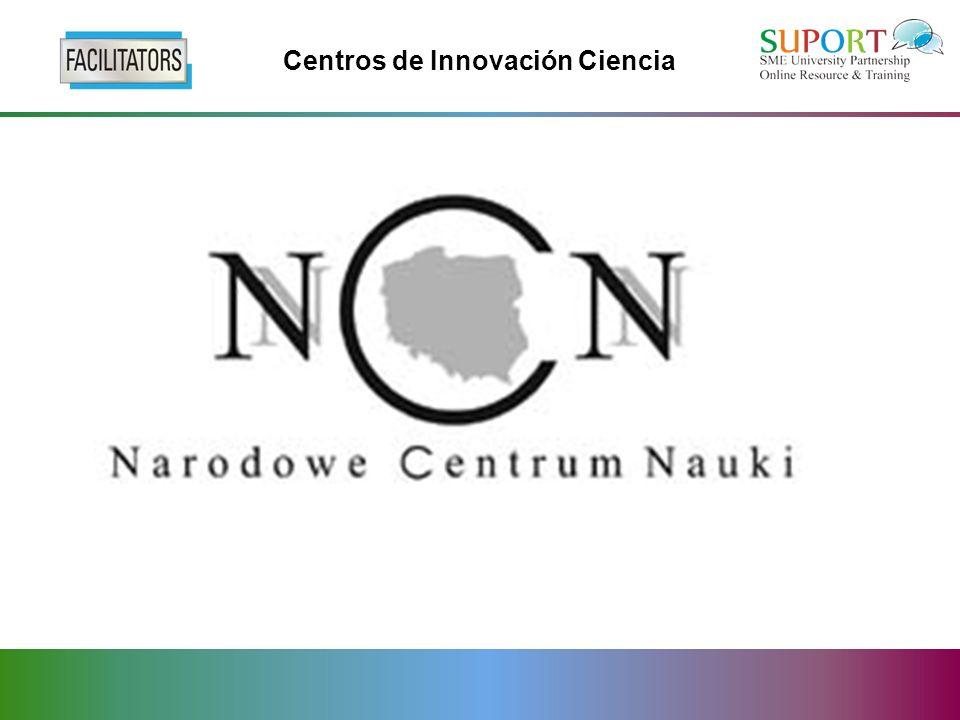 Centros de Innovación Ciencia