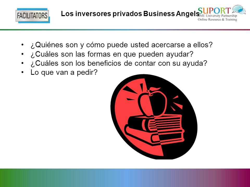 Los inversores privados Business Angels ¿Quiénes son y cómo puede usted acercarse a ellos.