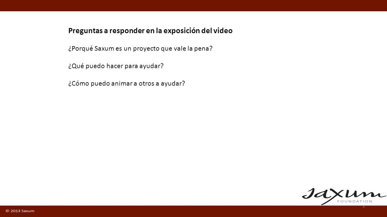 8 Como un personaje más – S. Josemaria Escrivá de Balaguer Mons. Don Álvaro del Portillo y Saxum Qué pretende Saxum? Como ayudar en este proyecto? Pre