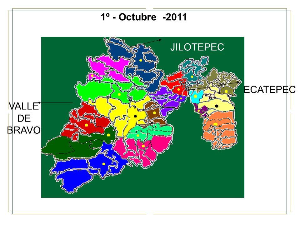 ECATEPEC JILOTEPEC VALLE DE BRAVO 1º - Octubre -2011