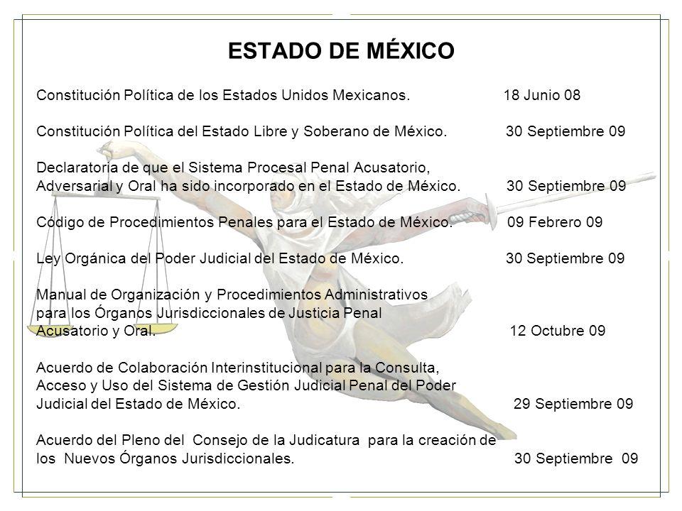 ESTADO DE MÉXICO (17 DE ABRIL DEL 2009) COMISIÓN INTERINSTITUCIONAL Secretaría General de Gobierno.