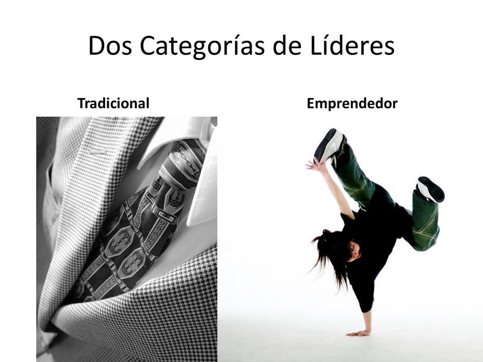 Dos Categorías de Líderes TradicionalEmprendedor