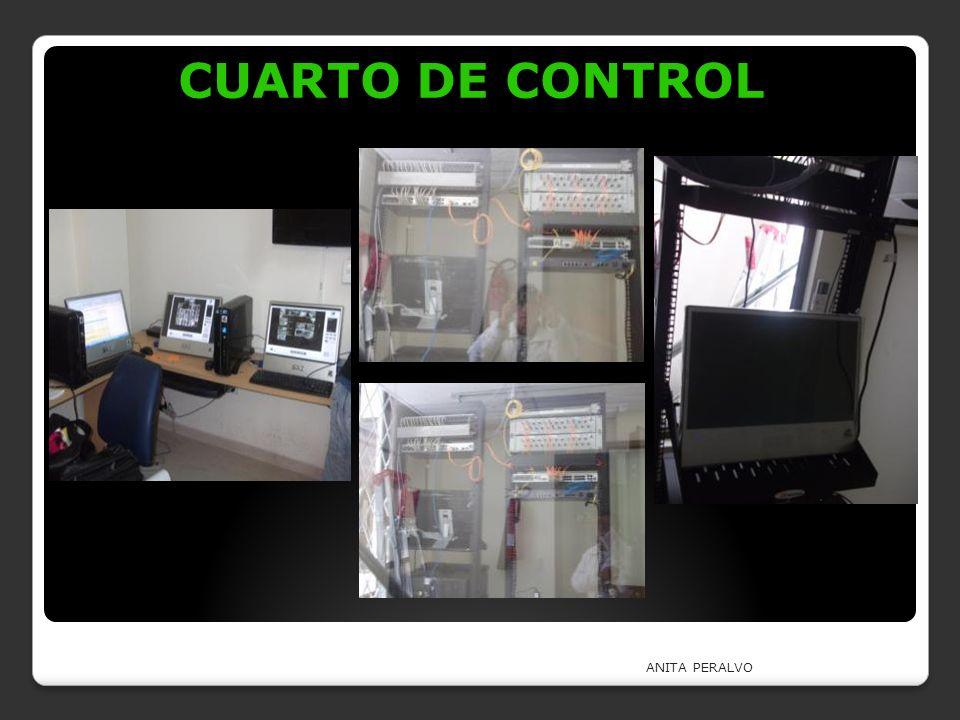 CUARTO DE CONTROL ANITA PERALVO