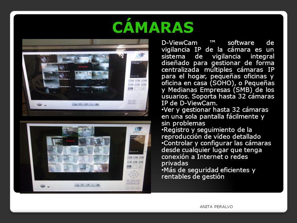 ANITA PERALVO CÁMARAS CÁMARAS D-ViewCam software de vigilancia IP de la cámara es un sistema de vigilancia integral diseñado para gestionar de forma c